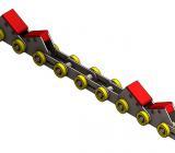 Corrente Transportadora Para Linha Siderurgica
